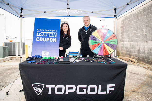 TopGolf Baton Rouge was one of our Gold Sponsors.